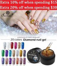 Nail Paint Diamond Gel Polish Glitter UV Saviland Nail Art Manicure Soak Off Gel