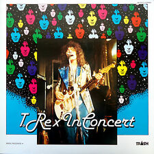 T-Rex-In Concert-LP–1981 Trio Records/Trash Japanese issue-Marc Bolan-AW-25012