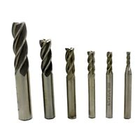 "In-tool-home 1/8"" 3/16"" 1/4"" 5/16"" 3/8"" 1/2""high Speed Steel HSS 4 Flute"