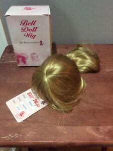 Bell Ceramics Doll Wig KRISIE Blonde Size 13-14 Beautiful Long Wavy