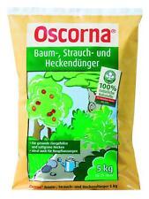 OSCORNA Baum-, Strauch- u. Heckendünger 5 kg NPK 6-4-0,5 Pflanzendünger Dünger