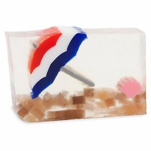 Primal Elements, Set of 2, Life's A Beach 6.0 oz Minimum Glycerin Handmade Soap