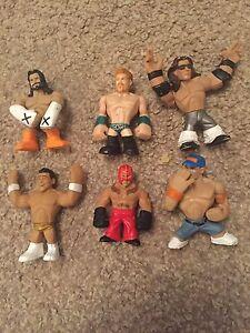 Wwe Wrestling Rumblers Figure Bundle X6 Cena Sheamus Rey Punk Alberto Morrison