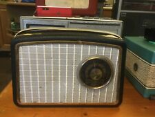 VINTAGE DANSETTE GEM RADIO BLACK SURROUND