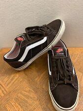 VTG Vans La Cripta Dos Omar Hassan Brown Suede Canvas Skate Shoes Men's sz 13