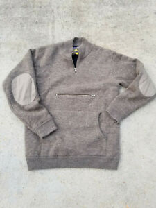 Cabelas Waterfowler 4MOST Windshear Heavy Wool Duck Hunting Sweater - M-L, Call