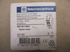 Telemecanique Relay RM4 LA32MW / RE7 MY13MW