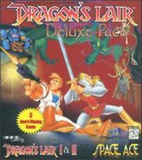 Dragon's Lair I & II 2, Space Ace PC CD quick moves animated hero adventure game