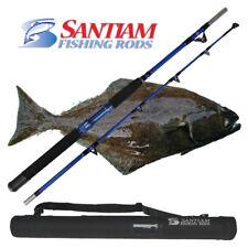 "SANTIAM FISHING RODS 2 PC 5'6"" 60-80 LB HALIBUT/TUNA ALASKAN TRAVEL SERIES"