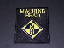 PUNK ROCK METAL MUSIC SEW/IRON ON PATCH:- MACHINE HEAD