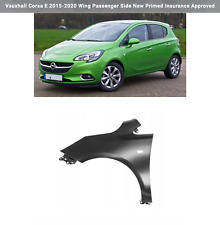 Vauxhall Corsa E 2015-2020 Wing Passenger Side New Primed Insurance Approved