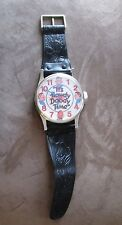 It's Howdy Doody Time Wristwatch SHAPED Wall Clock 40th Anniversary 1987