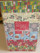 30 Sheets Of Good Quality Assorted Cute Christmas Wrapping Paper/Gift Wrap
