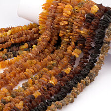 Wholesale Real Baltic Amber Adult Necklaces Raw Unpolished Chips Beads - Lot 10