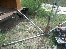 Lot of 2 - Metal Road Construction Sign Holder/Stand
