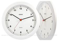 EUROCHRON Quartz Wanduhr ø27 cm Uhr Bürouhr Küchenuhr Bahnhofsuhr 342-3101.00