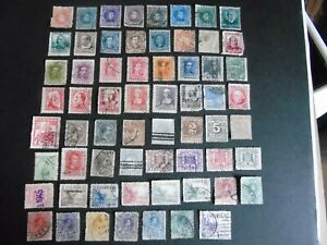 Spain - Great selection of 390 used stamps