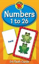 Brighter Child Flash Cards: Numbers 1 to 26, Grades PK - 1 by Carson-Dellosa...