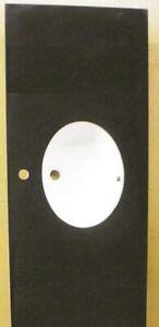 """Black Bathroom Vanity Base Single Oval SHAPE Single Handle Sink Granite Top 55"""""""