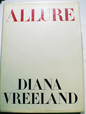 ALLURE/DIANA VREELAND/ DOUBLEDAY/NEW YORK/1980/PHOTOBOOK/VOGUE/AVEDON/BEATON...