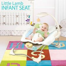 Baby Cradle Swing Bed Bouncer Toddler Infant Seat Portable Electric Music Chair