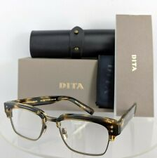 Brand New Authentic Dita Eyeglasses STATESMAN DRX - 2011-N-BLW - GLD 52mm Frame