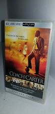 Nuovo Sigillato in Fabbrica Coach Carter UMD Mini Disco Film per Psp Sistema