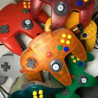 Nintendo 64 Controller | N64 | NUS-005 | Daiei Hawks | Aqua Blue |