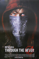 METALLICA, THROUGH THE NEVER POSTER (F5)
