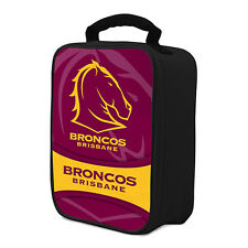 NRL Brisbane Broncos COOLER BAG Zip opening insulated Drink School Lunch Box