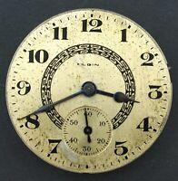Elgin 16s 7J OF Grade 291 Model 7 Pocket Watch Movement #W156