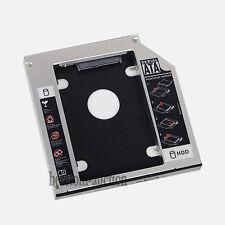 NEW SATA 2nd 9.5mm HDD SSD Caddy for Dell M6400 M6500 M6700 M6800 M4600 M4800