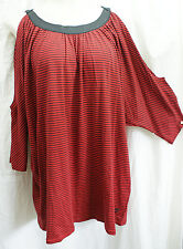 Size 18/20 SEVEN7 Luxe Womens Peek-A-Boo Shoulder Knit Top/Blouse NWT! $59