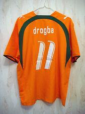 RARE Ivory Coast DROGBA 2006/2007 Football Shirt Jersey Côte D'Ivoire Chelsea