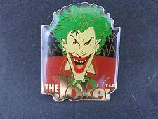 PIN'S PINS DC Comic Book Batman Character - The JOKER - 1989 Holy pins + attache