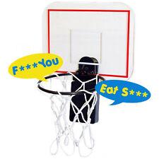 Swearing Waste Basket Hoop Product uses coarse language Free Shipping great gif