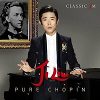 JI LIU Pure Chopin 2015 16-track CD album NEW/SEALED Frederic