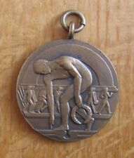 Bronze Commemorative Medal London 1948 Olympic Games by Pinches