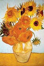 Sunflowers 1888 by Vincent Van Gogh Art Print Laminated Poster 24x36 inches
