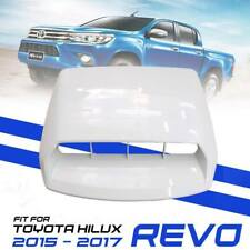 WHITE BONNET HOOD SCOOP COVER FIT TOYOTA HILUX REVO TURBO M70 M80 2015 2016 17