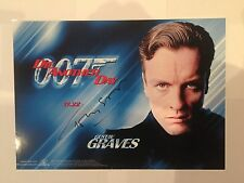 Toby Stephens James Bond Die Another Day AUTOGRAPHED picture photo