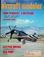Vtg American Aircraft Modeler Magazine March 1973 Sea Fury Al Rabe's  m184
