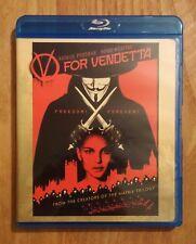 V For Vendetta (2006) Like New Blu-ray Natalie Portman, Hugo Weaving, John Hurt