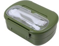 Olive Drab Compact Plastic 5 Piece Mess Kit