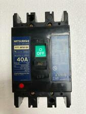 MITSUBISHI NF-50SH NO-FUSE CIRCUIT BREAKER 40 AMP 3 POLE 600 VAC