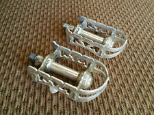 Vintage Kyokuto Top Run Road Bike Pedals good condition KKT Japan 9/16""