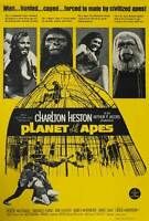 """PLANET OF THE APES Movie Poster [Licensed-NEW-USA] 27x40"""" Theater Size (1968)"""