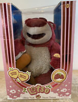 Disney Store Toy Story Lotso Talking Plush Deluxe Edition Strawberry Scented