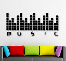 Wall Stickers Vinyl Decal Sound Music For Nightclubs DJ Party (ig1620)
