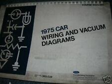 1975 ford mustang ii ebay rh ebay ca 1983 Ford Ranger Wiring Diagram 1975 Ford F100 Wiring Diagram